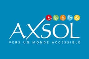 Logo de Axsol vers un monde accessible